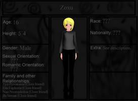 Zoxu Bio by KataTheDerp