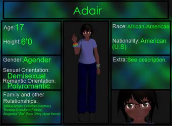 Adair Bio by KataTheDerp