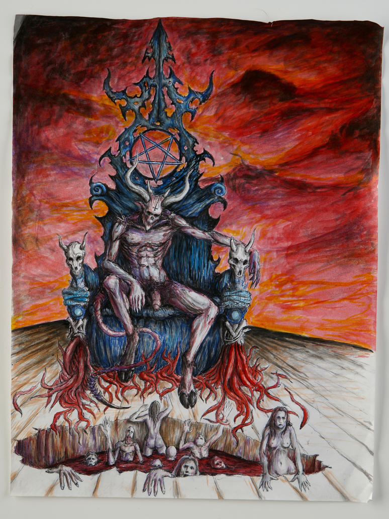 gates of hell tattoo designs for men pictures to pin on pinterest pinsdaddy. Black Bedroom Furniture Sets. Home Design Ideas