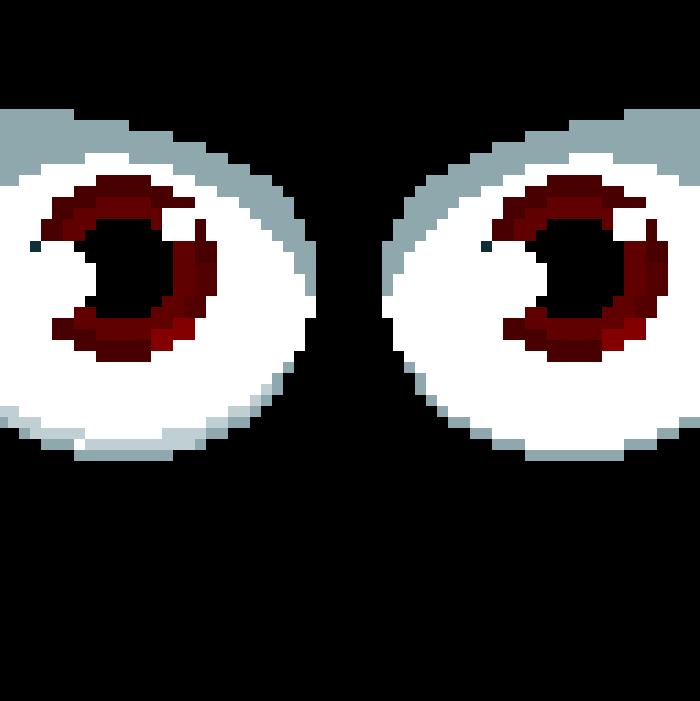 Pixel Eyes by NutellaSpoon