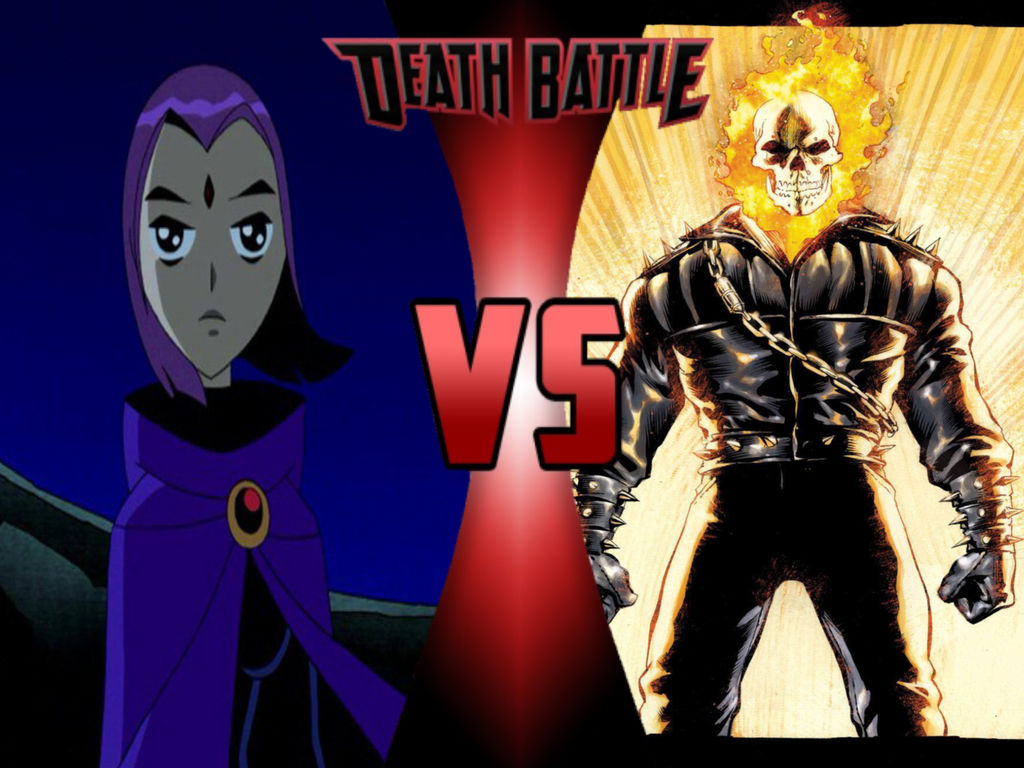 SALE: Raven VS Ghost Rider by Brooklynguy27 on DeviantArt