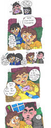 Victor and Valentino - Pineapple's Confession by Abrigedfoamy