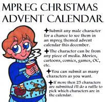 Mpreg Christmas Advent Raffle