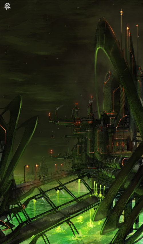 toxin refinery by TheArtofSaul