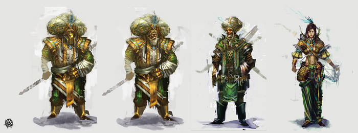 3 character concepts