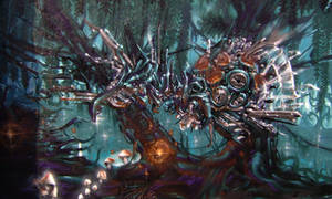 Nekromantix by TheArtofSaul