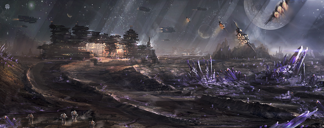 Mining Colony by TheArtofSaul