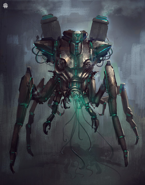 nano-gardener droid by TheArtofSaul