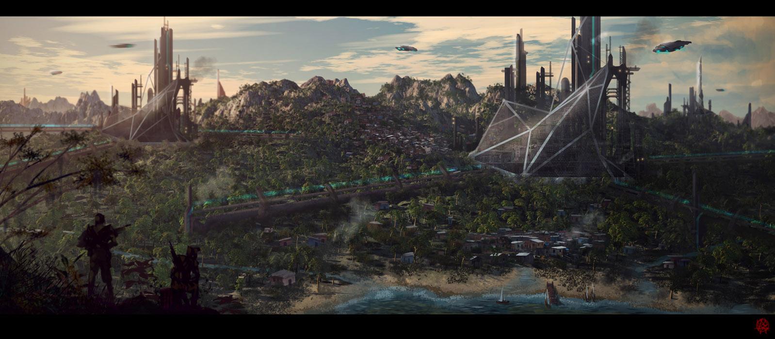 jungle mining by TheArtofSaul