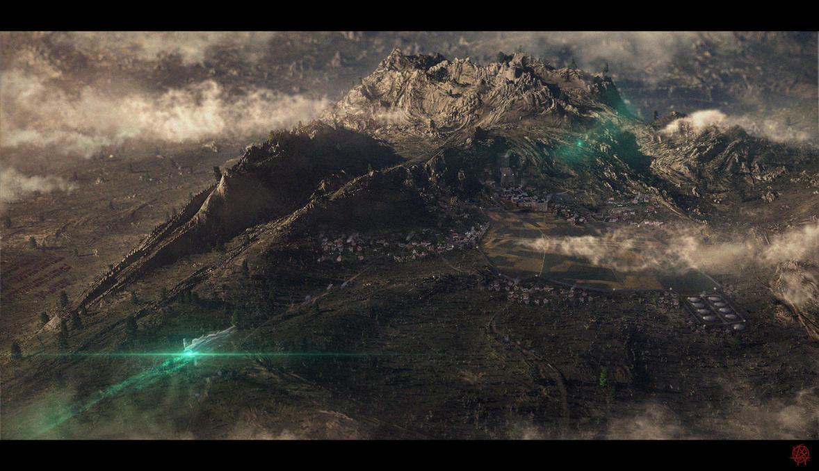 Grassy Valley Matte by TheArtofSaul