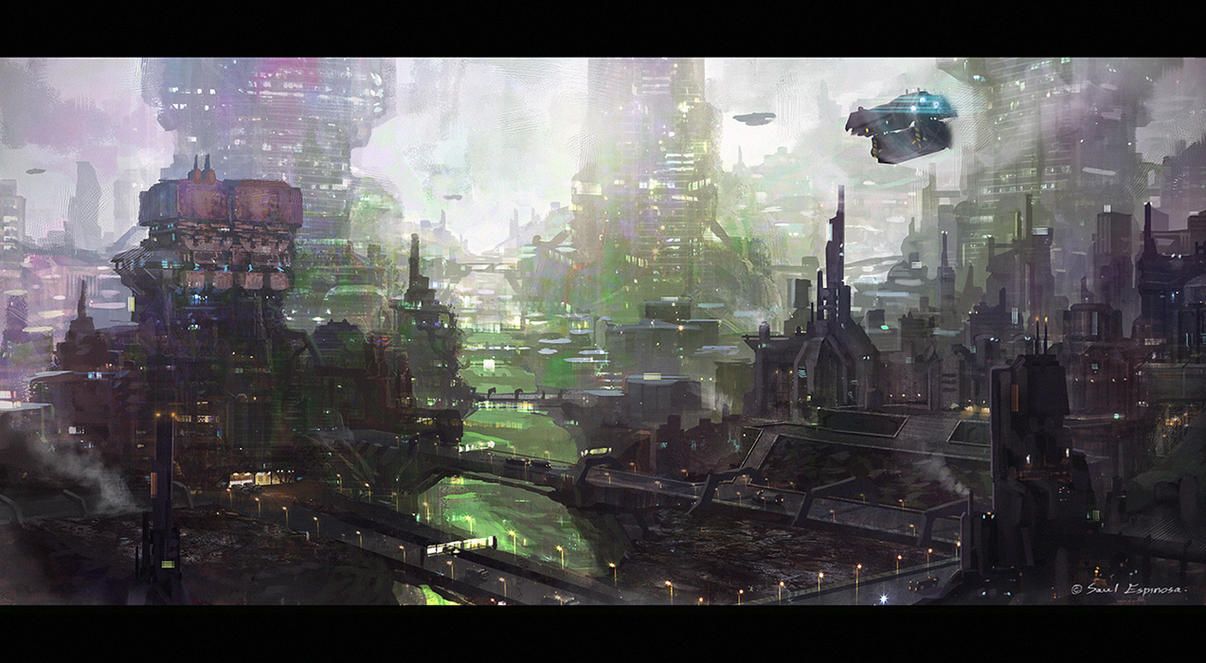 Ridge City by TheArtofSaul