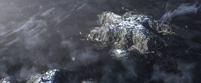 Frozen Island Render x09282018A