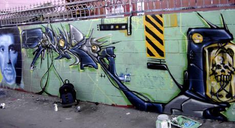 Nekro SIK east LA by TheArtofSaul