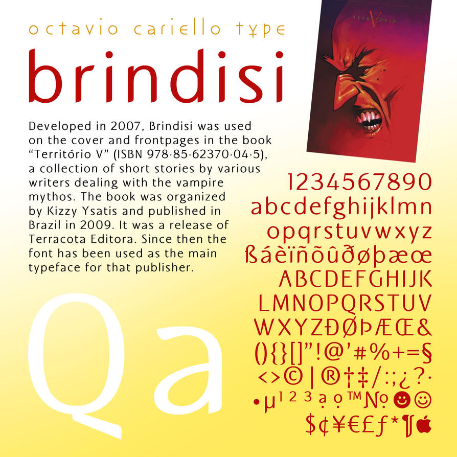 brindisi type by cucomaluco