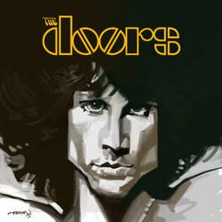 Jim Morrison by cucomaluco