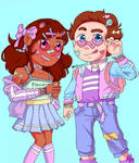 Steven and Connie by thiskidart