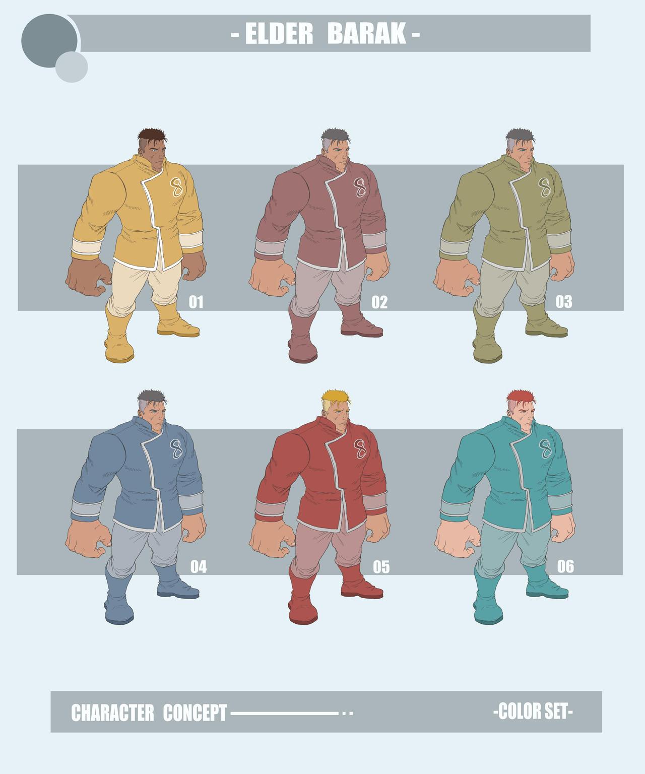 Elder-barak-color-set