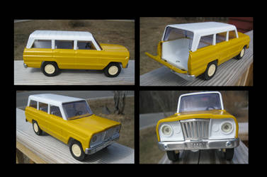 Search and Rescue - 1970s Tonka Jeep Wagoneer