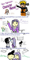 Naruto Character meme by Violetthehedgehog