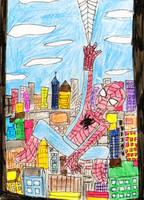 Spider-Man by Violetthehedgehog