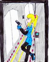 Zero Suit Samus by Violetthehedgehog