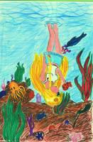 California Underwater by Violetthehedgehog