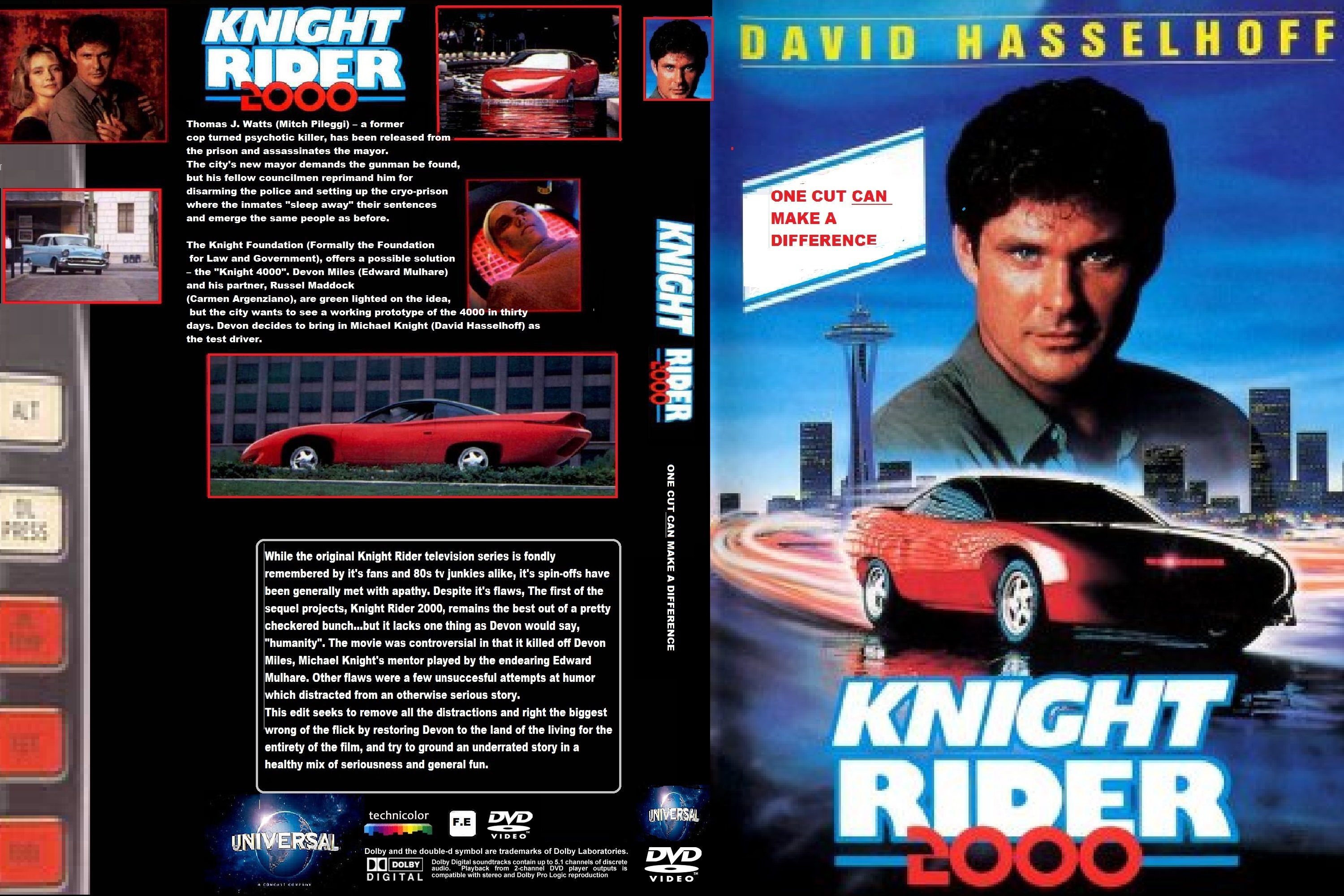 Knight Rider 2000: One Cut CAN Make A Difference by