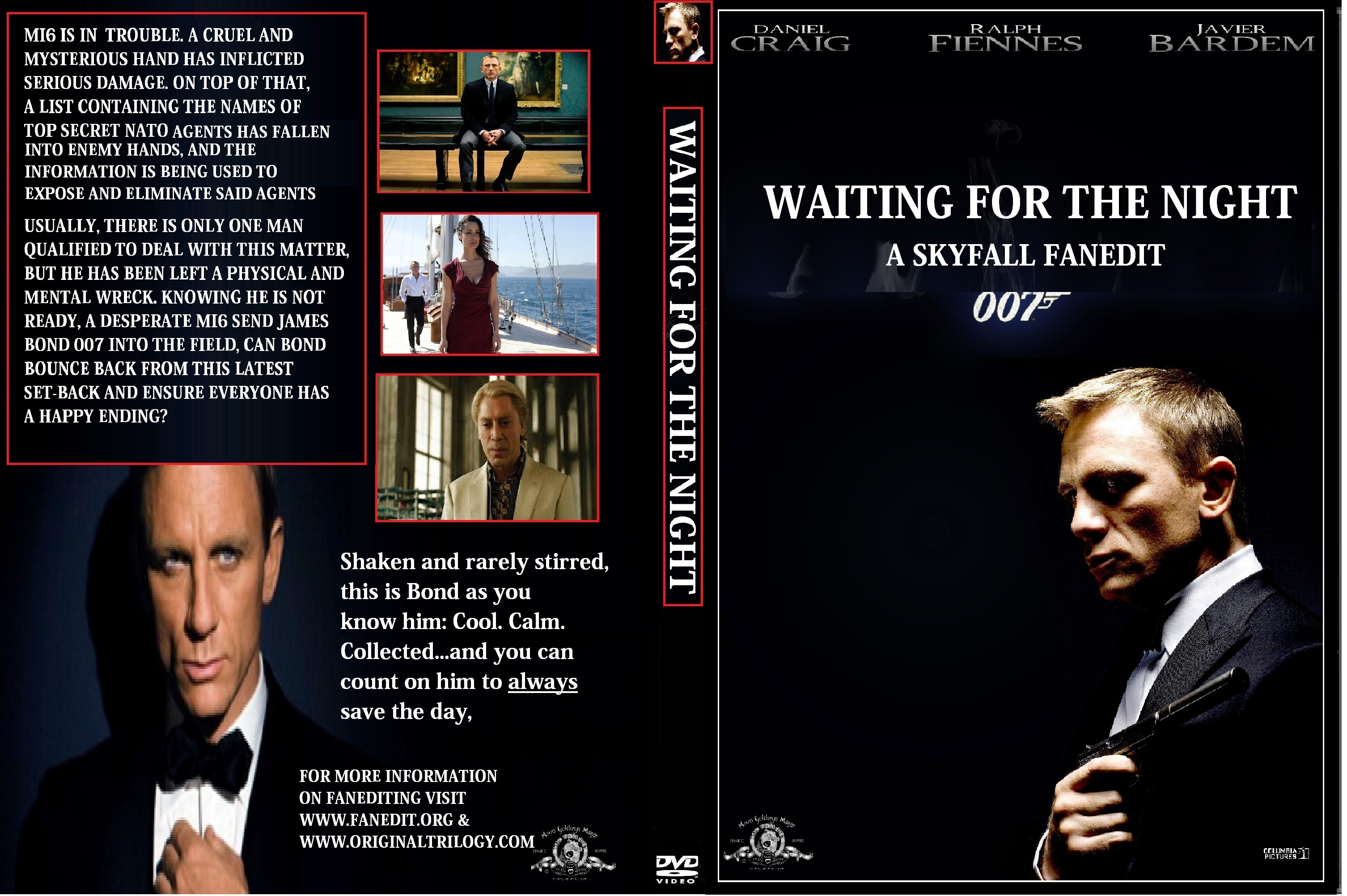 Waiting For The Night DVD Cover (Skyfall Fanedit) by ...