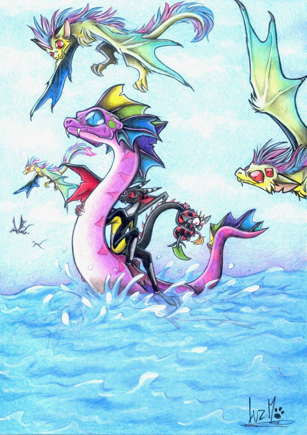 Ocean awesomeness by Chocolatechilla