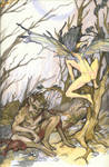 Ariel and Caliban- The Tempest