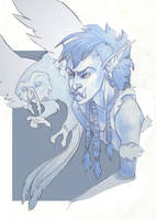 Morganox- WOW character by zirofax