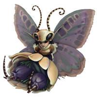 Butterfly Fae by zirofax