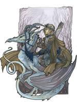 Dragon Rider by zirofax