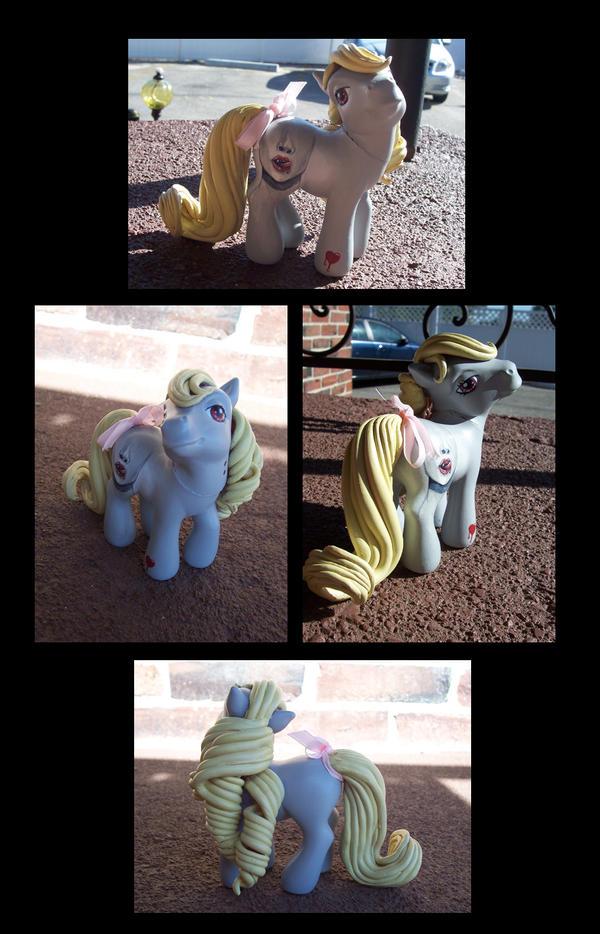 Trueblood Pony by zirofax