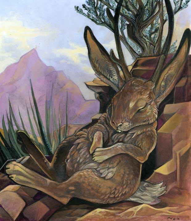 Jackalope folklore