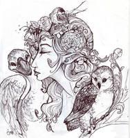 Tatiana the Fairy Queen by zirofax