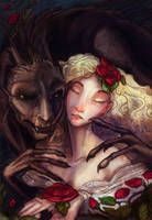 Beauty and the Beast by zirofax