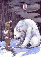 The North-  The Golden Compass by zirofax