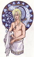 Bath Time Jareth- Labyrinth