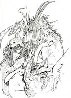 Mythical Beasties by zirofax
