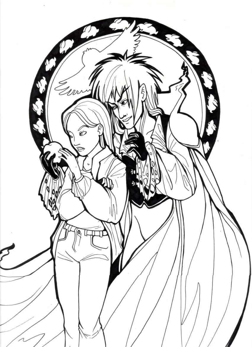Uncategorized Labyrinth Coloring Pages labyrinth coloring pages murderthestout 28 images gain the power of voodoo