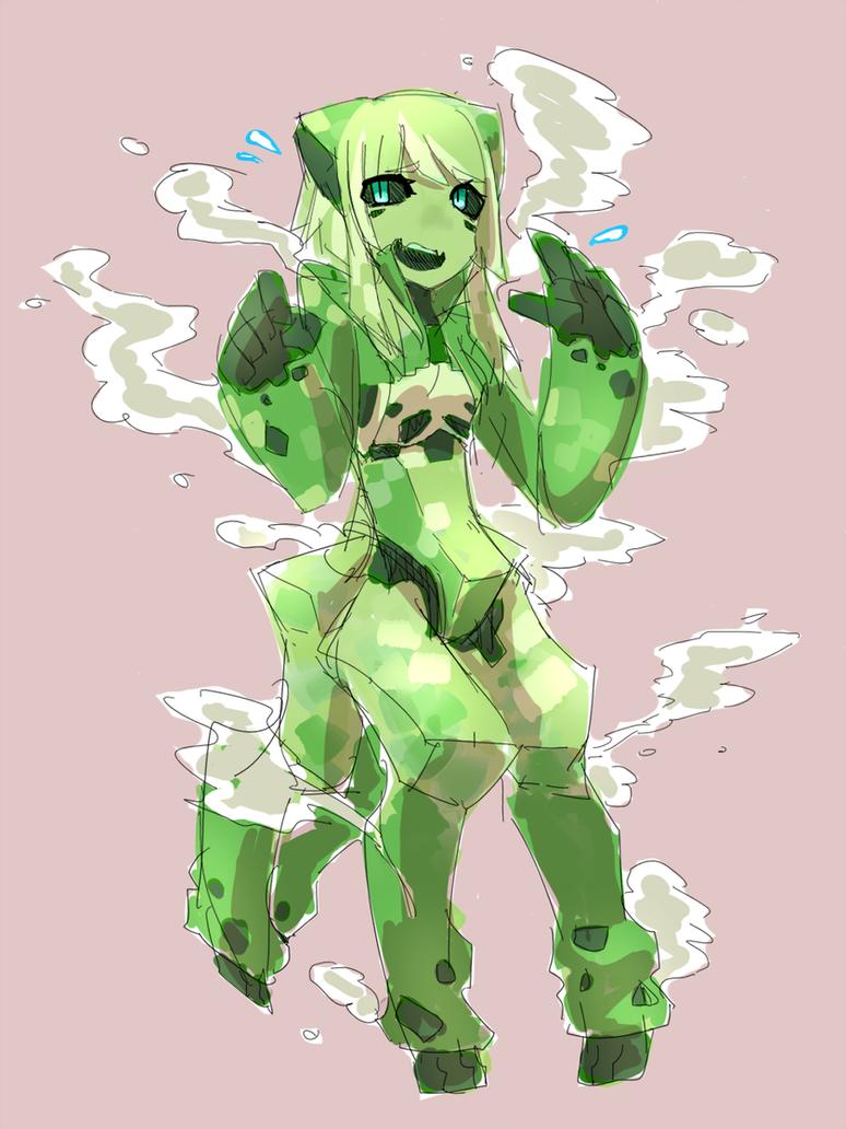 CreeperGirl by TemeCharoSan