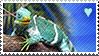 Iguana stamp by SatoshiMist