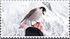 Bird on hand stamp by SatoshiMist