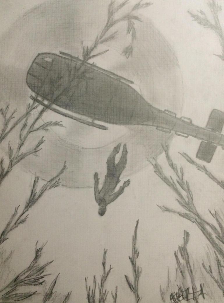 Fallen comrade by Caliborn4life