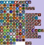 Mega Man Weapon Icons