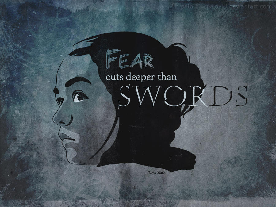 Arya Stark - GOT quotes by paloStark