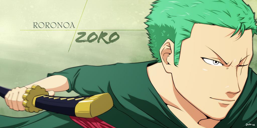 Roronoa Zoro by paloStark