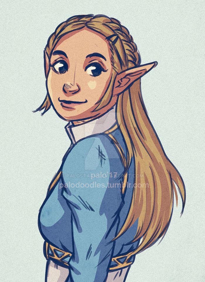 Zelda BOTW by paloStark