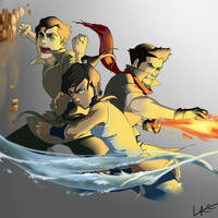 Team Avatar by CarishinLove